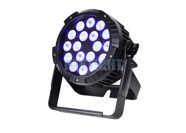 China Energy Efficiency Cree LED Par 18X18w Rgbwa UV 5 In 1 50000hrs Lifespan factory