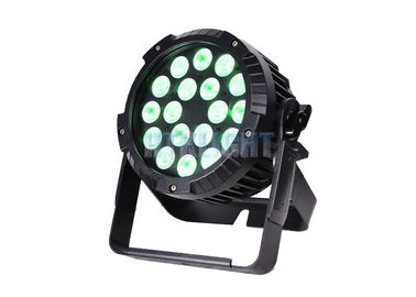 Water Resistant 64 LED Par Can Stage Lights Master - Slave Control Mode