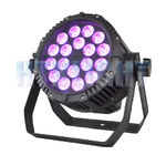IP65 Outdoor Waterproof LED Par Light 18x12W With Advanced Optics
