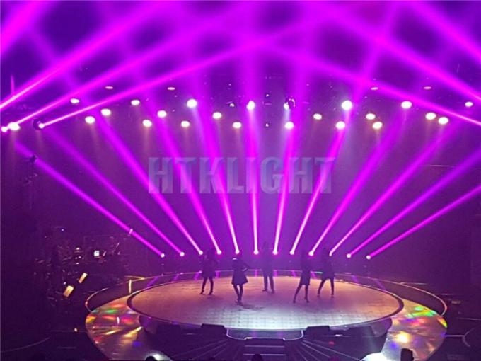 260W Stage Moving Head Light , Led Moving Head Professional Show Lighting