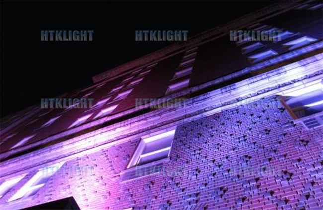 RGBW 4 In1 18 X 10W Led Wall Wash Outdoor Lighting With 25 Degree Beam Angle