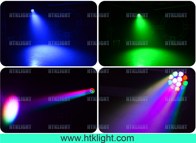 DMX512 Control Mode Moving Head Led Stage Lights 50000 Hrs Average Lifespan